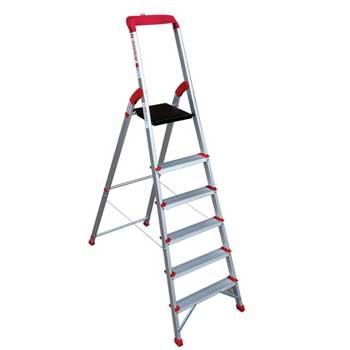 نردبان خانگی 6 پله مدل آریانا