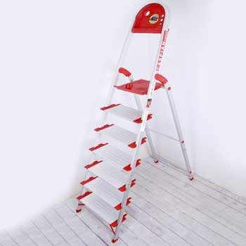 نردبان خانگی 7 پله مدل کاسپین