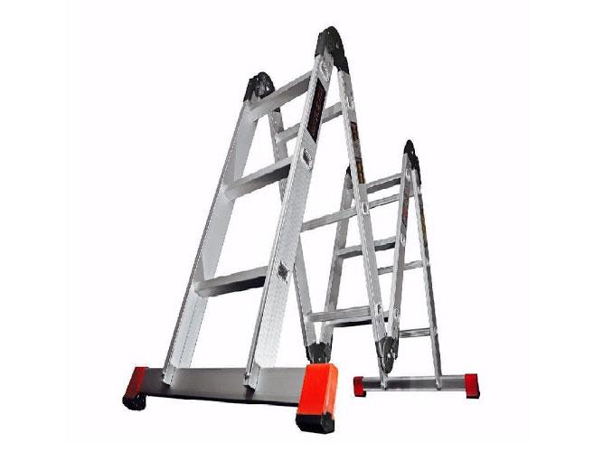 نردبان صنعتی چند کاره مفصلی 4 تیکه