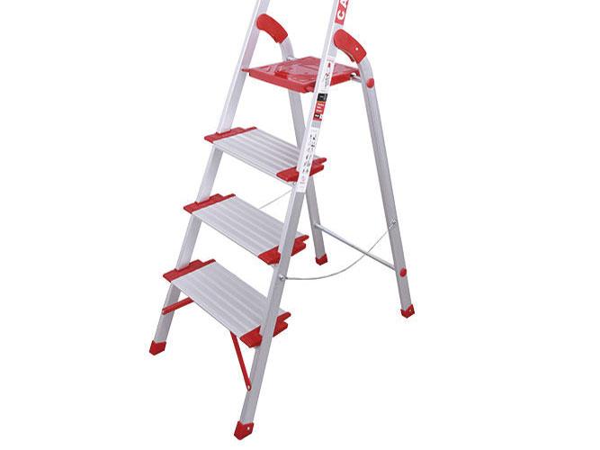 نردبان  خانگی 4 پله مدل کاسپین