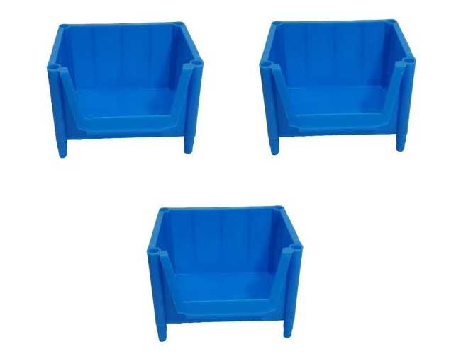 پالت پلاستیکی کشویی 90*125*175میلیمتری