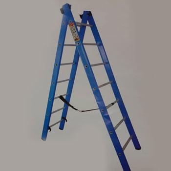 نردبان صنعتی مخابراتی پله گرد