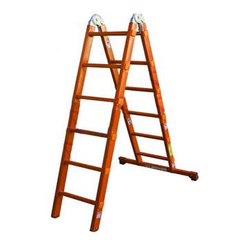 نردبان صنعتی چند کاره مفصلی 2 تیکه